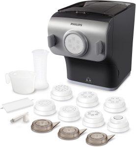 Philips HR2358/12 Pastamaker (machine à pâte automatique avec balance et 8 formes de bol).